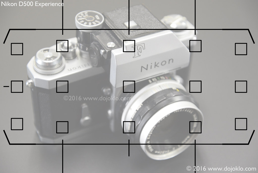 how to change focus points on nikon d500