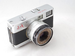 Great Wall SZ-1 08 () Tags: china camera bw white black classic film 35mm vintage beijing rangefinder retro