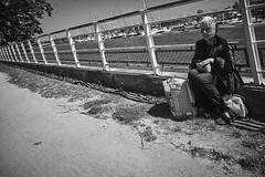 (thierrylothon) Tags: france monochrome flickr fuji bretagne fr morbihan publication repos noirblanc urbain lorient personnage c1pro captureonepro phaseone activit wclx100 fujix100t fluxapple