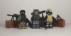 Soldier Concepts (Dyroth) Tags: war lego military halo future figure guns ghosts custom futuristic minifigure blackops warfare brickarms customprinted brickforge legoguns legomilitary militaryfigure legobattle legobrickarms seanben minifigcat eclipsegrafx