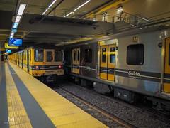 Contraste (mauro.tch) Tags: city argentina train subway metro transport siemens subte transporte