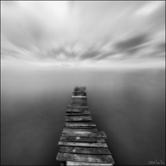 To the end (Toni_pb) Tags: tonipou nikond810 d810 nikon 1424 nikkor142428 delta deltebre bn bw blanconegro mistico vanishingpoing puntodefuga pasarela pier agua landscape waterscape nature nd10 lucr0it 165mmfilters 165holder 10stops viejo contrast longexposure largaexposicion led contraste highcontrast sky white blanco black cielo serenidad monocromo serenity 1x1 square