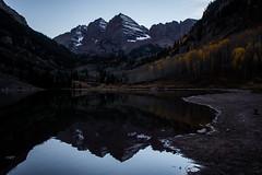 IMG_7983a (markbyzewski) Tags: mountain lake twilight colorado aspen maroonbells