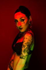sinister (clippix.co.uk) Tags: portrait 35mm death nikon witch 85mm headshot tessa retouch speedlight gel luton harpenden dunstable hitchin stalbans immortality strobist d7000 sb700 clippix