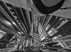 Macy's (Jovan Jimenez) Tags: macy macys gigapixel giga pixel bw black white pano panorama panoramic canon eos 70d tokina atx 116 pro dx ii 1116mm f28 chicago il architecture department store mall kolor autopano adobe nik collection silver effects creative cloud hdr clothing clothes fountain wide angle fisheye fish eye interior design autopanopro indoor indoors dslr