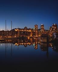 Reflective Glow | #nightphotography #granvilleisland #christostrophe (instagram.com/christostrophe/) Tags: longexposure nightphotography canada reflection vancouver cityscape citylights instagramapp