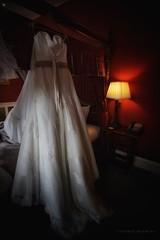 Sarah's bridal gown... (RichardK2010) Tags: wedding sarah nikon tears derbyshire weddingdress tokina1224mm bwah d7100 shottlehall snapseed tremblybottomlip