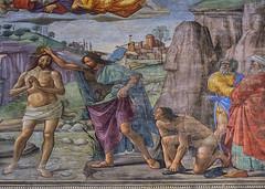 santa maria novella florence 165 (Walwyn) Tags: italy florence fresco renaissance wallpainting johnthebaptist ghirlandaio