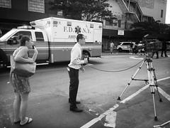 Jodi (ShelSerkin) Tags: street nyc newyorkcity portrait blackandwhite newyork candid streetphotography squareformat gothamist iphone mobilephotography iphoneography hipstamatic