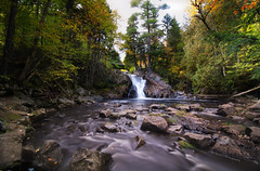 A Long Falls Time (Explored) (Rob Hanson Photography) Tags: travel newengland 2012 robhanson robhansonphotographycom autumn2012