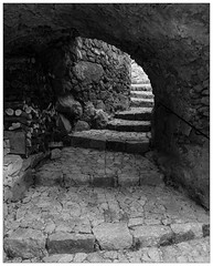 Stones, steps and archway (Wilco1954) Tags: arch stones corsica steps cobbles woodpile stantonino lacorse