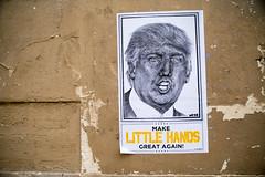 Make Little Hands (dprezat) Tags: street urban usa paris art painting stencil nikon tag graf peinture aerosol trump bombe d800 pochoir nikond800