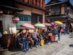 Shade (Martin Smith - Having the Time of my Life) Tags: japan kyoto thoughtful jp shade gion umbrellas geishadistrict hotday martinsmith kytoshi kytofu nikkor2485mmf3545gedvr nikond750 martinsmith japan2016