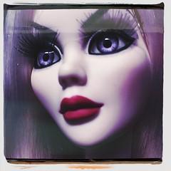 New Doll (welovethedark) Tags: doll iphone creepydoll mortallove wildeimagination iphonephoto evangelineghastly hipstamatic