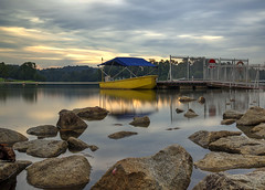 Sunset at Lower Peirce Reservoir, Singapore (gintks) Tags: seascape reflection evening landscapes singapore singapur eveningglow exploresingapore singaporetourismboard yoursingapore gintks gintaygintks