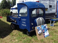 Casey's Coal Truck (spot the Austin A30 parts!) (andreboeni) Tags: microtruck austin a30 british commercial vehicle camionette