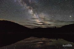 Thinly Veiled (kevin-palmer) Tags: milkyway galaxy night sky stars starry astronomy astrophotography june summer nikond750 tokina1628mmf28 sibleylake bighornmountains bighornnationalforest water reflection mars red planet clouds wyoming astrometrydotnet:id=nova1627161 astrometrydotnet:status=failed