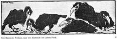 Ons Eigen tijdschrift 1924  Anton Pieck houtsnede Toekans (janwillemsen) Tags: 1924 antonpieck magazineillustration woodcutprint onseigentijdschrift