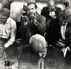 (TaMiMi Q8) Tags: portrait blackandwhite bw iran pray praying mashhad