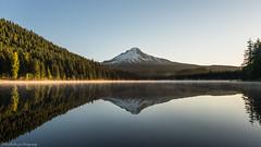 Trillium Lake Sunset.. (Robie..) Tags: trilliumlake origon reflection sunset