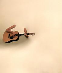 (Moataz Al-Hussaini) Tags: portrait music wall arms guitar song acousticguitar