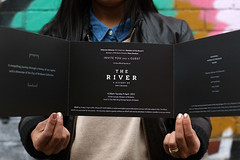 The River Invite (Studio Pounce) Tags: graphicdesign fitzroy melbourne brisbane invitation theriver museumofbrisbane chrisstarr studiopounce