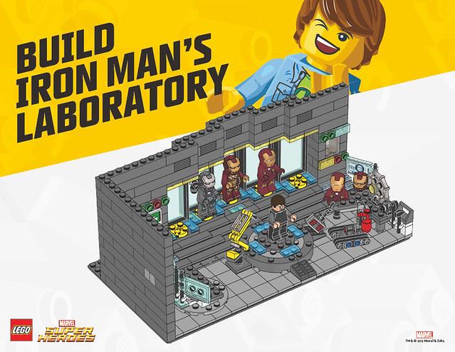 LEGO CLUB【鋼鐵人的實驗室】組裝說明書免費下載中!