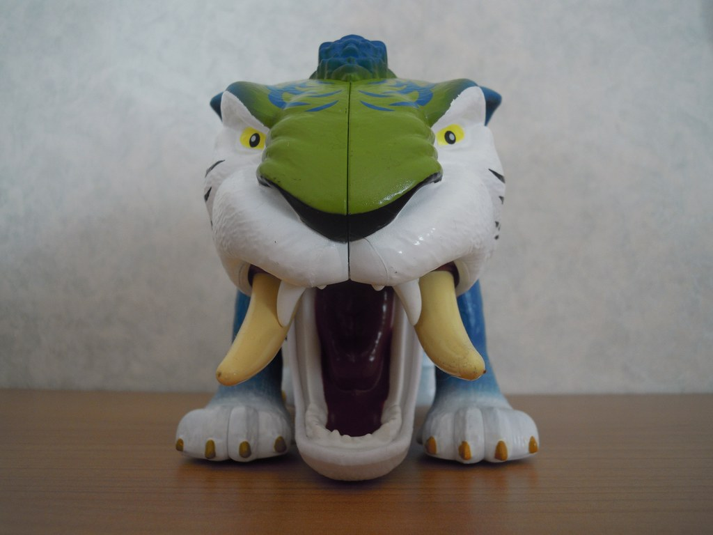 Nicely drilled Sabertooth toys they can