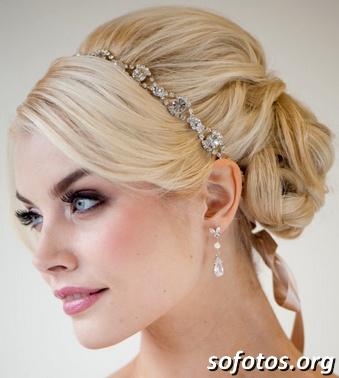 Penteados para noivas preso