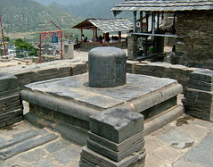Shivaling on the Bhava Temple Ruin (dozafar) Tags: uttarakhand lakhamandal bhavatemple