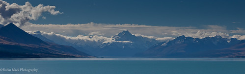 Aoraki (Mt. Cook) and Lake Pukaki