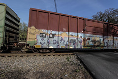Mewts (Revise_D) Tags: railroad graffiti tagging freight revised fr8 knd benching mewts fr8heaven benchedgoods