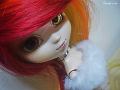 New Mira-Pullip Lunatic Queen (Demigod on Fire) Tags: eyes queen lunatic bicolor firegirl 3plluip