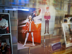 Turbo Train Go-Go Boots (Night Owl City) Tags: california usa uniform exhibit amtrak photograph fullerton gogoboots fullertonrailroaddays exhibittrain