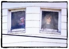 The hEads ~ 19/52 (Flat Coat Whimsy) Tags: windows house creepy heads 52weeksfornotdogs