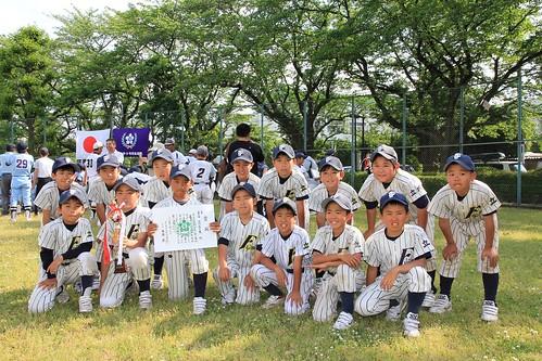 《2部》2013年度 立川市少年野球連盟 春季大会 3位