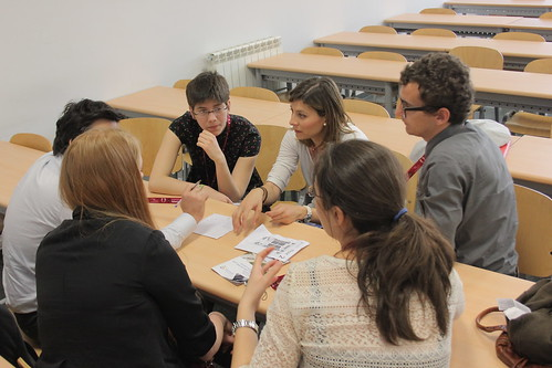 Discussion group during GA by Board of European Students of Technology Photos, on Flickr