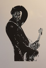Daft Punk Screenprint (Belakor) Tags: art illustration print screenprint punk daft daftpunk