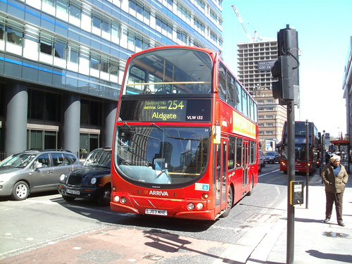 VLW132, Aldgate, London, 20/04/13
