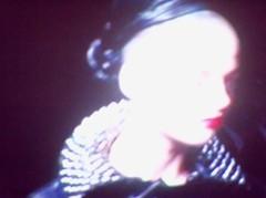 (decandace) Tags: girl face fashion tv model runaway tvscreen ftv