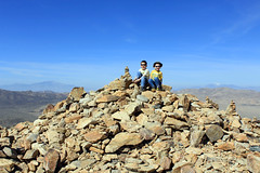 Summit Cairn (kerch) Tags: california hiking cairn joshuatreenationalpark eak rhk ryanmountain