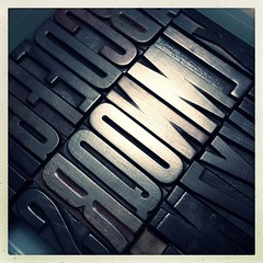 Wood Type (Trouduff) Tags: letters font letterpress woodtype