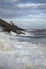 Rough Seas at Mumbles Lighthouse (Jo Evans1) Tags: lighthouse force very may 9 gale mumbles rough winds seas