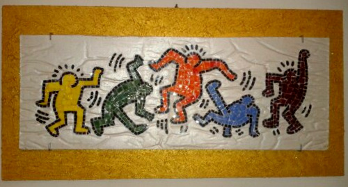 .tribute to KEITH HARING(1958-1990)