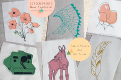 Screen Prints Now Available (The Sometimes Crafter) Tags: screen prints