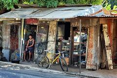 (Philippe Vieux-Jeanton) Tags: street old island maurice poor ile case repair mauritius 2013 dsc08891 sel1855 snapseed