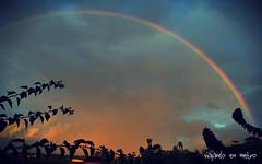 Atardecer en Viaes. Cuba (momentos guardados) Tags: naturaleza arcoiris cuba colores tormenta viales nikond5000