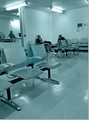 In the Fracture Clinic waiting room (Andrew Buck) Tags:
