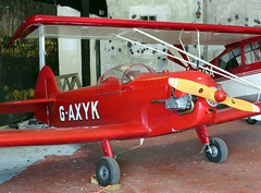 G-AXYK (GH@BHD) Tags: aircraft aviation taylor jt1 monoplane comptonabbasairfield gaxyk