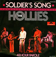53 - Hollies, The -  Soldier's Song - D - 1976 (Affendaddy) Tags: germany 1976 polydor thehollies vinylsingles collectionklaushiltscher soldierssong 1960s70sbeatpop 48hourparole 2040280